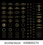 wicker lines and old decor... | Shutterstock .eps vector #430800274