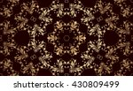 abstract ornamental background. ... | Shutterstock .eps vector #430809499