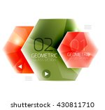 hexagon abstract geometric...