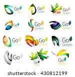 green nature leaf vector... | Shutterstock .eps vector #430812199