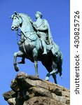 George III equestrian statue, sculptured between 1824-30 often referred to as the