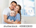 happy young family | Shutterstock . vector #430832833