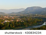 the views from luang prabang. | Shutterstock . vector #430834234