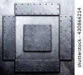 metal background | Shutterstock . vector #430866214