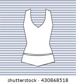 lingerie drawn vector. panties. ...