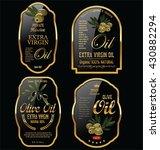 olive oil retro vintage... | Shutterstock .eps vector #430882294