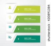 business infographics template. ...   Shutterstock .eps vector #430891384