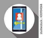 smartphone design. app icon....   Shutterstock .eps vector #430904068