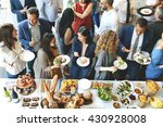food catering cuisine culinary... | Shutterstock . vector #430928008