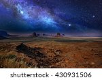 Starry Night Sky Over The...