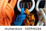 rope access equipments | Shutterstock . vector #430946266