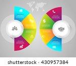 vector elements for infographic.... | Shutterstock .eps vector #430957384