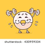 vector illustration of smile... | Shutterstock .eps vector #430959334