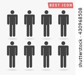 people icon | Shutterstock .eps vector #430968508