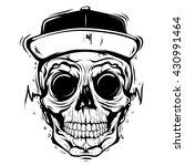 skull face | Shutterstock .eps vector #430991464