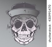 skull face | Shutterstock .eps vector #430991470