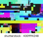 glitch background in the rave... | Shutterstock .eps vector #430994248