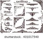 Ornamental Design Borders And...