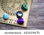 foretelling the future through... | Shutterstock . vector #431019670
