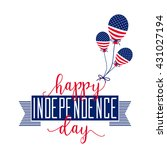 4th of july background. fourth...   Shutterstock .eps vector #431027194