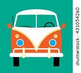 Volkswagen Bus. Reds Surf Van....