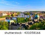 Spring Prague Panorama From...