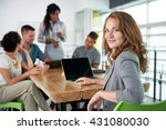 image of a succesful casual... | Shutterstock . vector #431080030