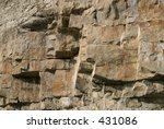 Detail Of Purbeck Stone Rock...