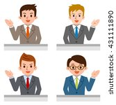 acceptance of male | Shutterstock .eps vector #431111890