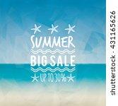 summer sale label   Shutterstock .eps vector #431165626