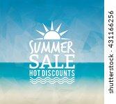 summer sale label   Shutterstock .eps vector #431166256
