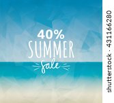summer sale label | Shutterstock .eps vector #431166280