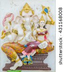 Small photo of Ganesha statue, the public is open to the people worship. (Shakti Ganapati)