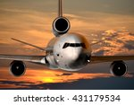 jet passenger plane   great for ... | Shutterstock . vector #431179534