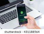 chiang mai thailand   jun 4 ... | Shutterstock . vector #431188564