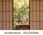 japanese panel | Shutterstock . vector #431203366