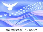 dream wave of peace and love | Shutterstock . vector #4312039
