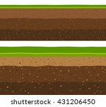 layers of grass with... | Shutterstock .eps vector #431206450