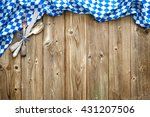 rustic background for... | Shutterstock . vector #431207506