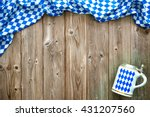 rustic background for... | Shutterstock . vector #431207560