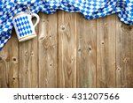 rustic background for... | Shutterstock . vector #431207566