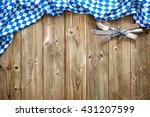 rustic background for... | Shutterstock . vector #431207599
