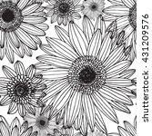 floral pattern | Shutterstock .eps vector #431209576