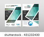 brochure template  flyer design ... | Shutterstock . vector #431232430