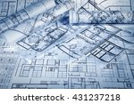 architectural project | Shutterstock . vector #431237218