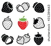 Strawberry Icon Collection  ...