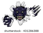 A Black Panther Cartoon Sports...