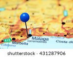 Torremolinos Pinned On A Map O...