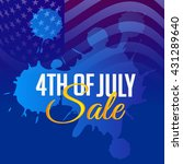 vector illustration of 4th july ... | Shutterstock .eps vector #431289640