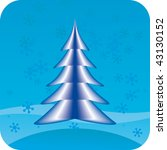 abstract christmas tree | Shutterstock .eps vector #43130152